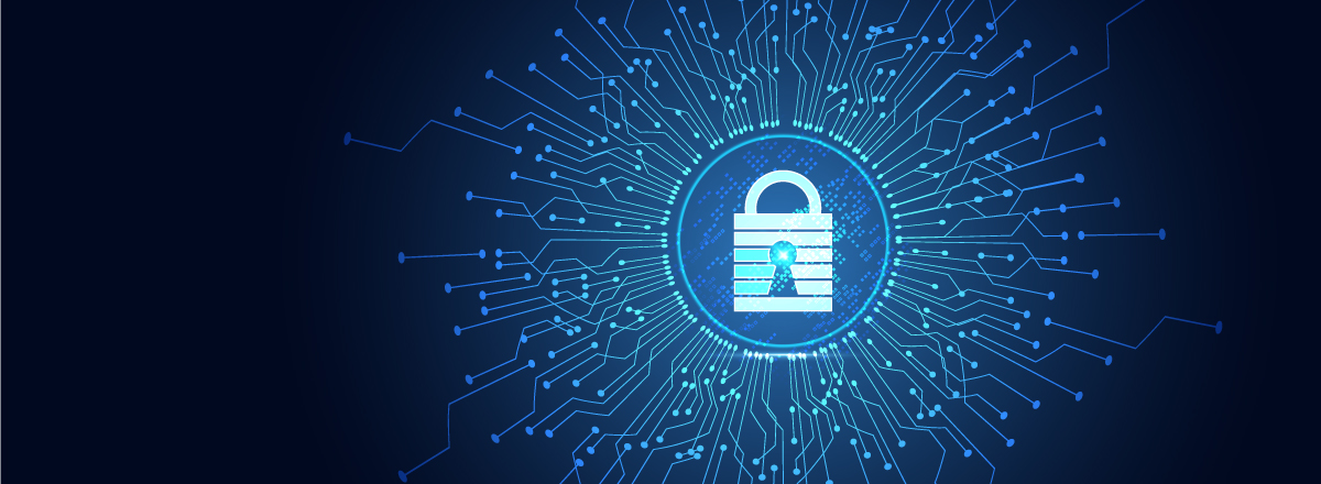 Why is data security important on a network printer or MFP?