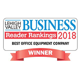 EBS Voted Best Office Equipment Dealer in the Lehigh Valley 2018
